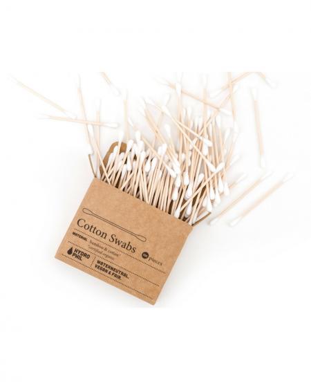 Cotton fioc in bambù -...
